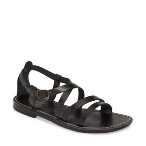 Seychelles Leather Strappy Sandals.